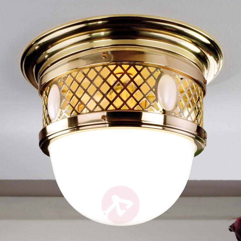Alt Wien Ceiling Light Art Nouveau Style Brass - Ceiling Lights
