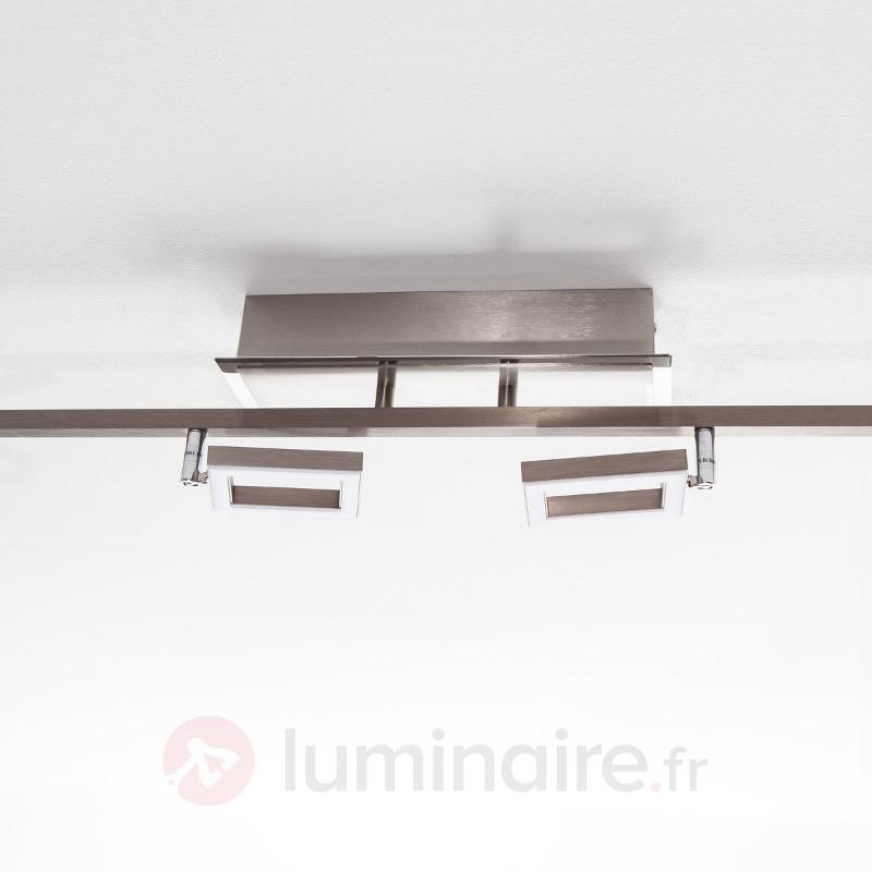 Plafonnier LED Lovisa élégant à 6 lampes - Plafonniers LED
