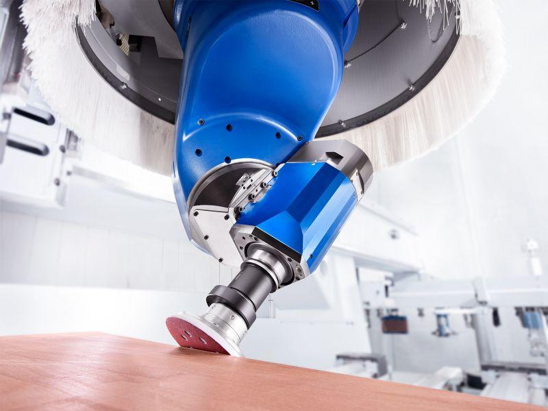 Exzenterschleifaggregat SIMOLO - CNC Aggregat zur Bearbeitung von Holz, Verbundwerkstoff und Aluminium