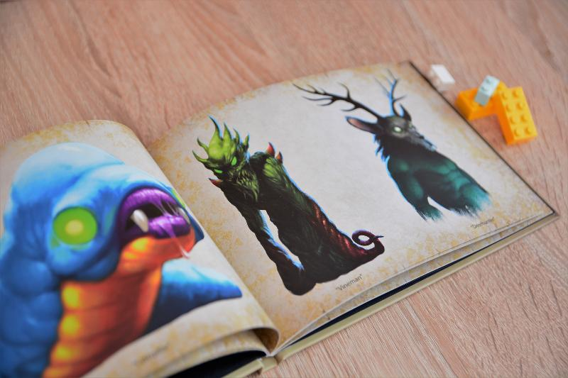 Hardcover game artbook - Hardcover book