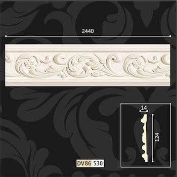 polyurethane wall borders design Ornaments - polyurethane wall decorations