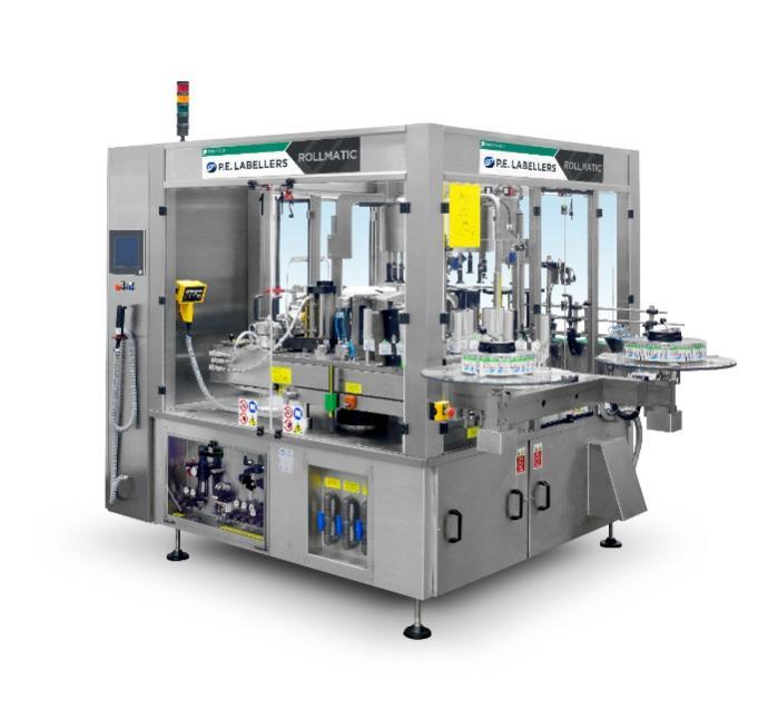 Rollmatic - Etichettatrice rotativa da bobina per l'applicazione di etichette avvolgenti