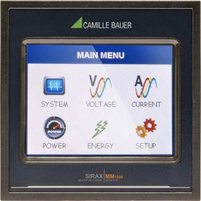 SIRAX MM1200 - Indicateur avec écran TFT