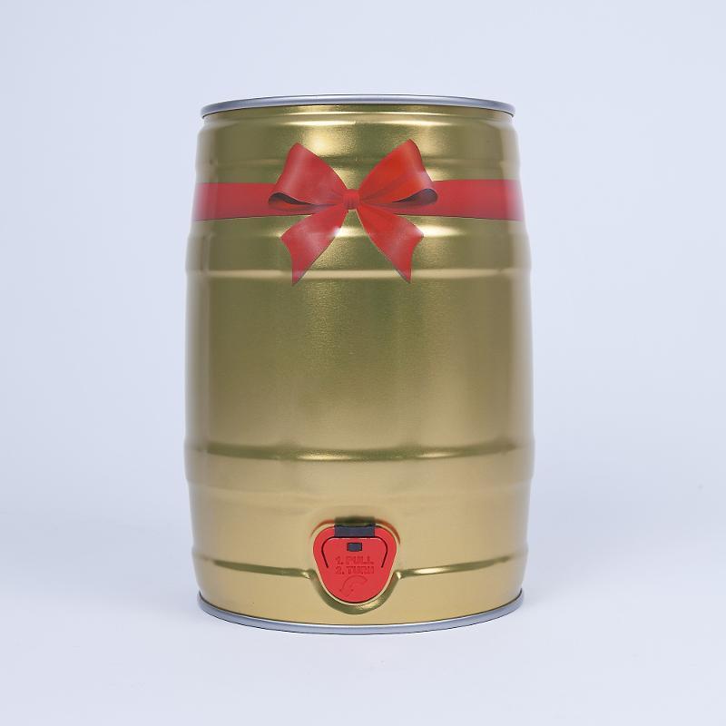 Partyfass 5 Liter, Geschenkdekor - Artikelnummer 420000598500