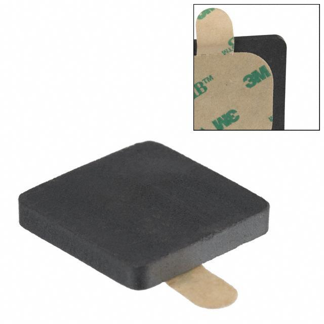 FERRITE EMI PLATE 13MMX13MMX2MM - Laird-Signal Integrity Products MP0512-200