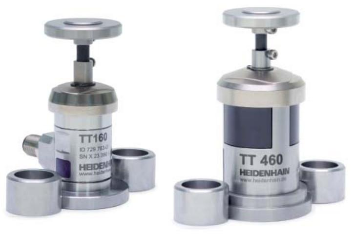 TT系列测头 160/460 - TT系列测头的刀具测量 海德汉