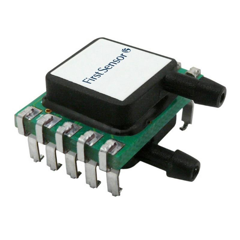 LDE differential low pressure sensors - The LDE differential low pressure sensors are based on thermal flow measurement