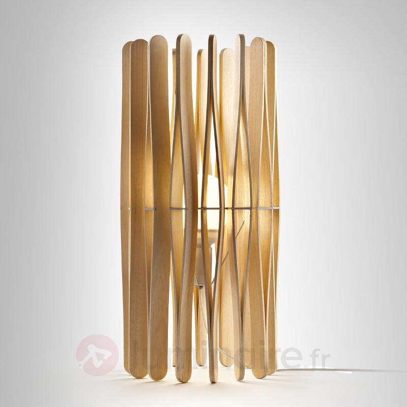 Lampe à poser design Stick en bois - Lampes à poser en bois
