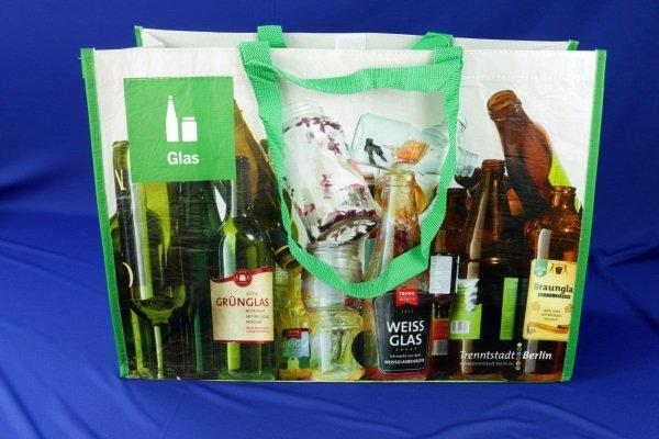 R-PET Bags are bags composed of old plastic bottles - PET Bags
