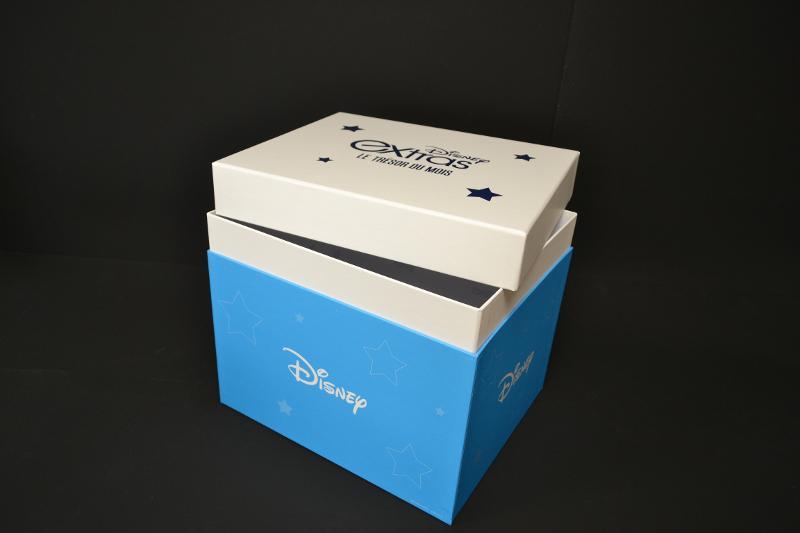Coffret Cloche Carton - Impression 2 couleurs +pelliculage mat Type boite divertissement