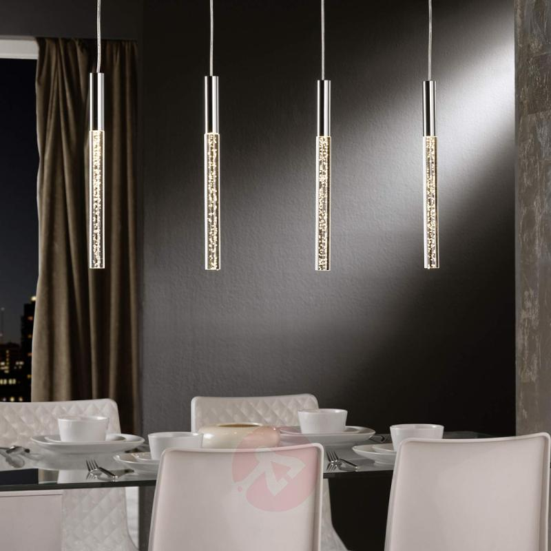 4-bulb LED pendant light Cosmo - design-hotel-lighting