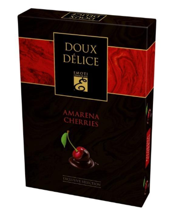 EMOTI Cherries Dark Chocolates, 140g -