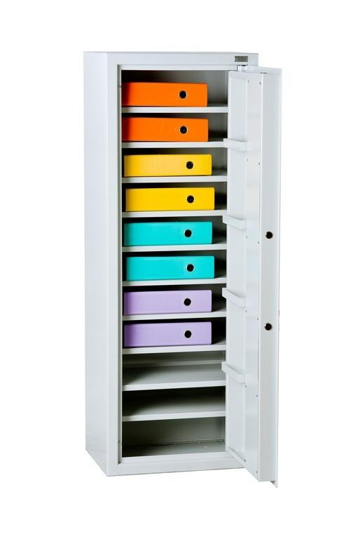 Metal safe for documents - null