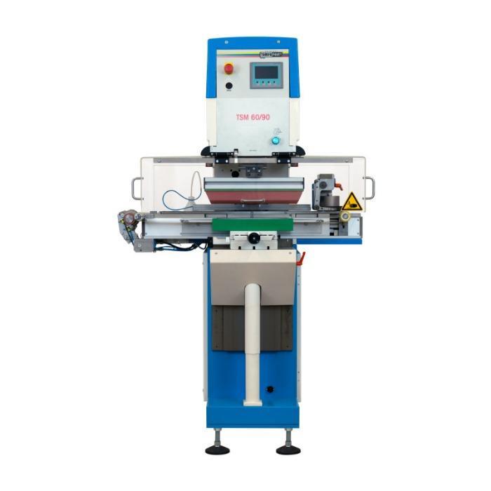 TSM Serie de máquinas de tampografía - Serie de máquinas de tampografía para imágenes impresas en dos colores.