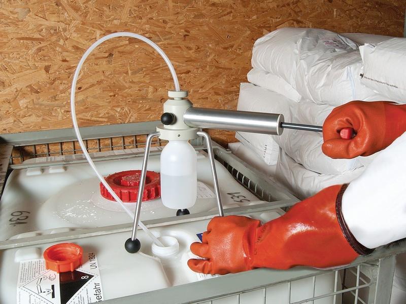 Profi Sampler - Sampler for liquids, for water and effluents, for barrels, tanks, lorries