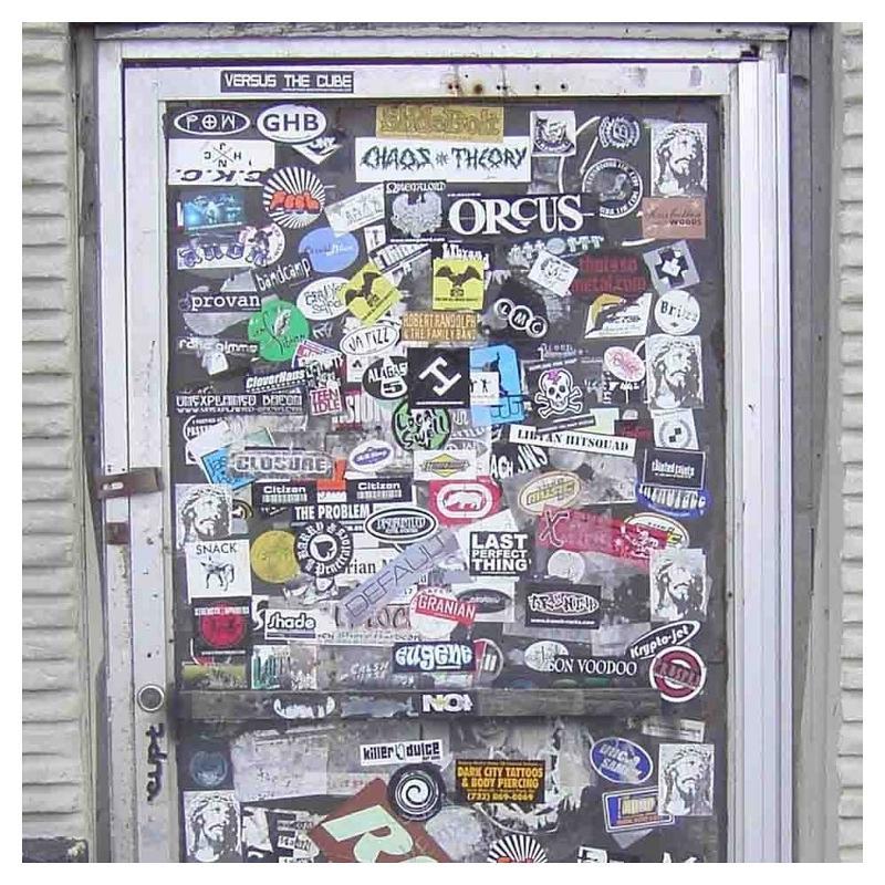 Sticker fond blanc - Stickers pas cher unitaires et en planches