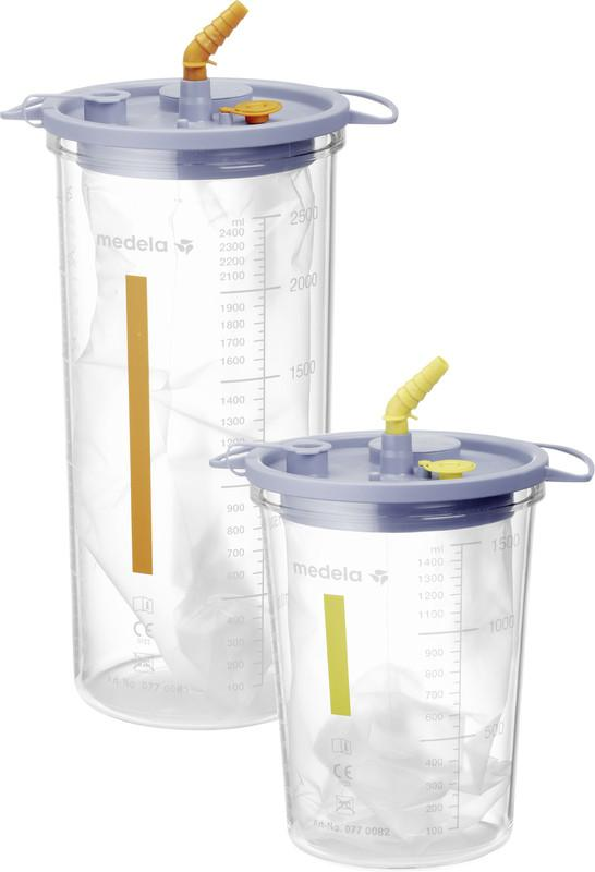 Medela DCS - Disposable Collection System - Safe collection and disposal of suctioned fluids
