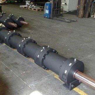 Divisione di flusso 8 stadi, cilindrata 35,34 dm3 - Cilindri speciali