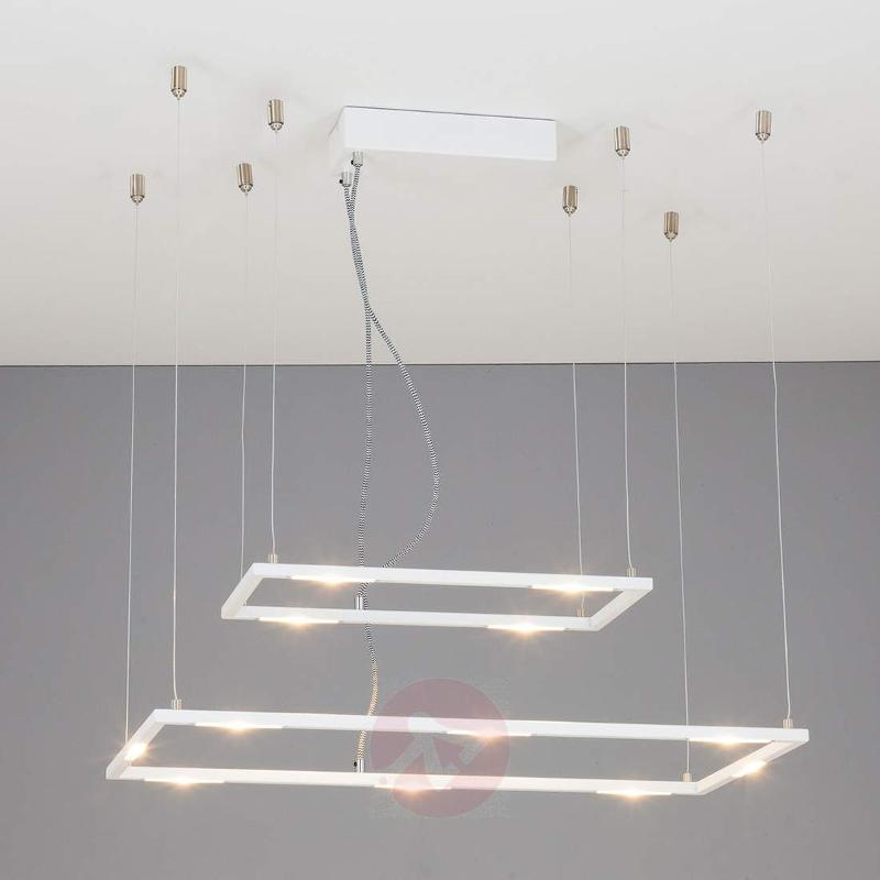 Square Kona pendant lamp with dimmable LEDs - Pendant Lighting
