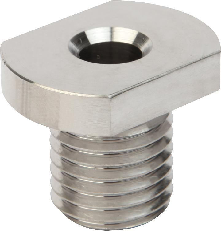 Douille de fixation en Inox pour anneau de levage à broche - Anneaux de levage fixes et pivotants, anneaux à broche autobloquante
