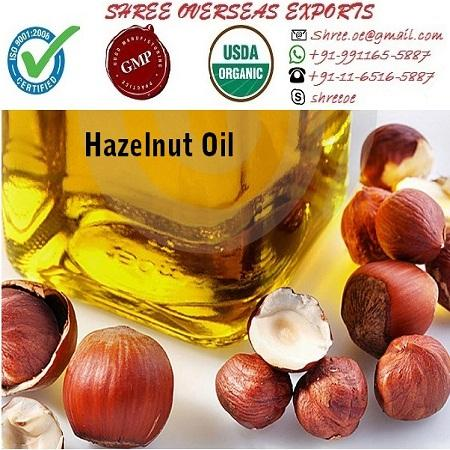 Organic Hazelnut Oil - USDA Organic