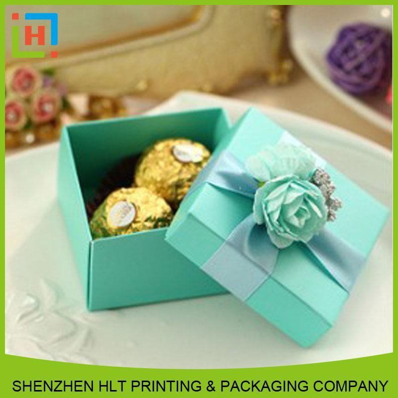 chocolate art paper box - Artpaper box