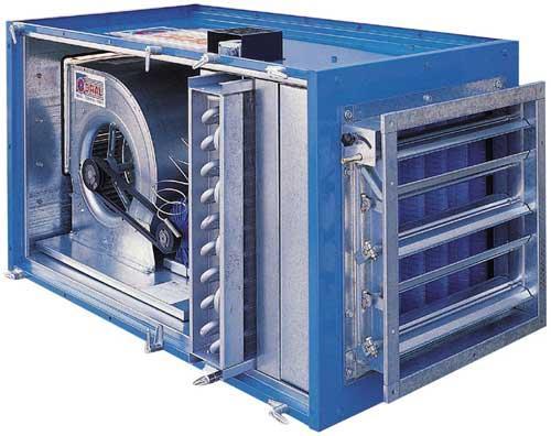CTA soufflante avec batterie type électrique - Centrale de traitement de l'air