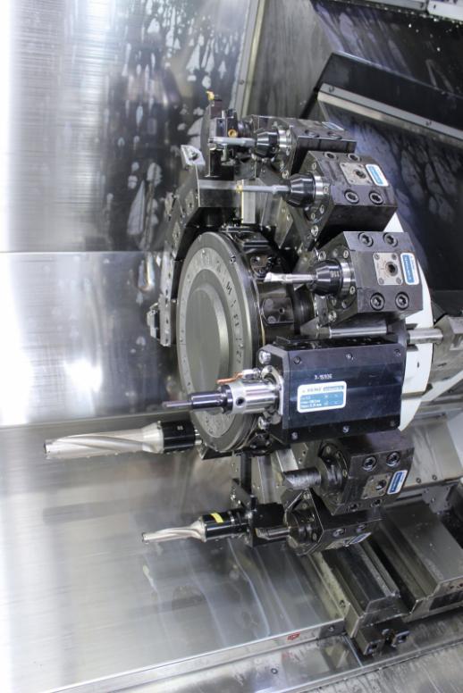 Stoßeinheit LinA AXIAL für Drehzentren - Angetriebene Stoßeinheiten für alle gängigen CNC-Drehmaschinen