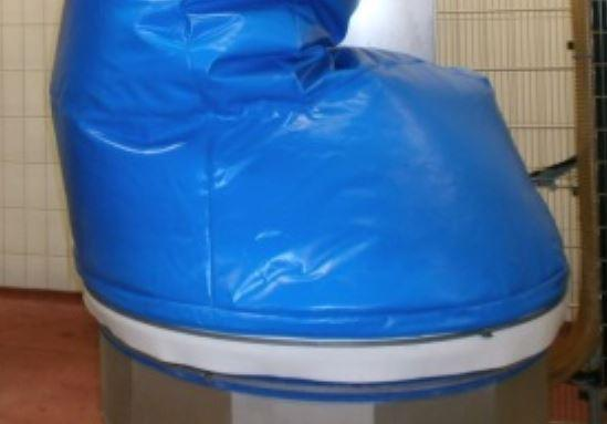 Système de ventilation pour housse robot - null