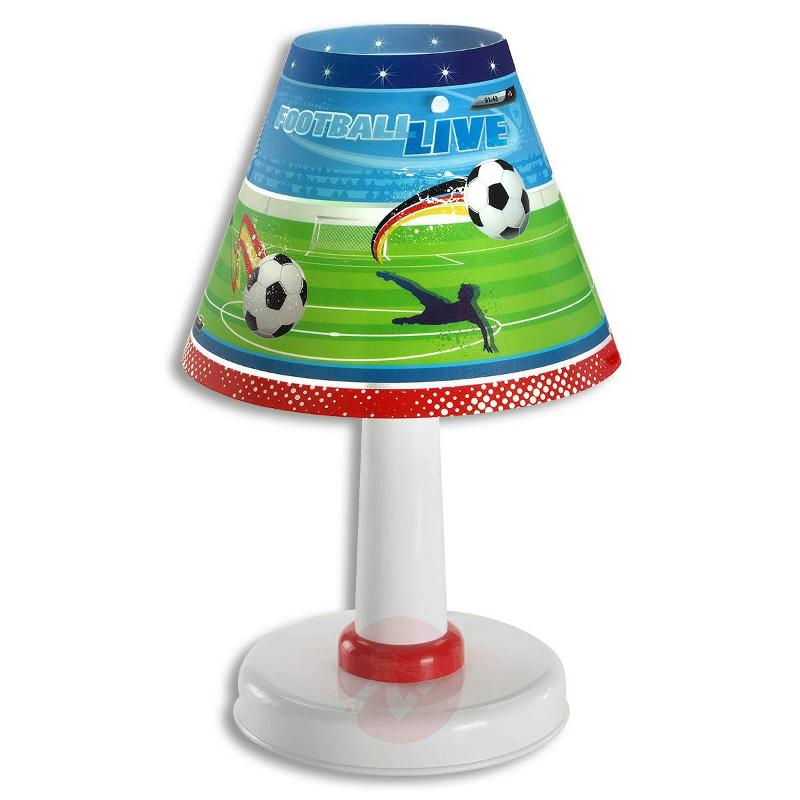 Childrens room table lamp football table lamps lights germany childrens room table lamp football table lamps aloadofball Choice Image