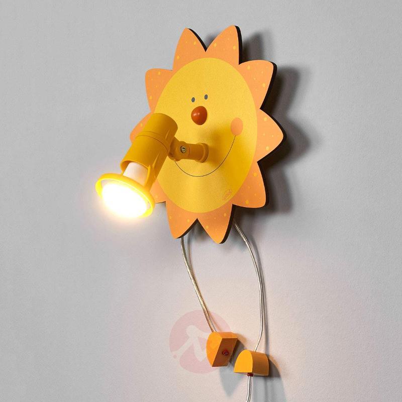 Funny Sun wall light - Wall Lights