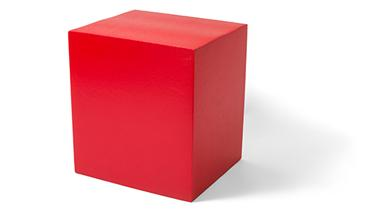 SITZWÜRFEL gerade W40-45-50-GB - Sitzwürfel