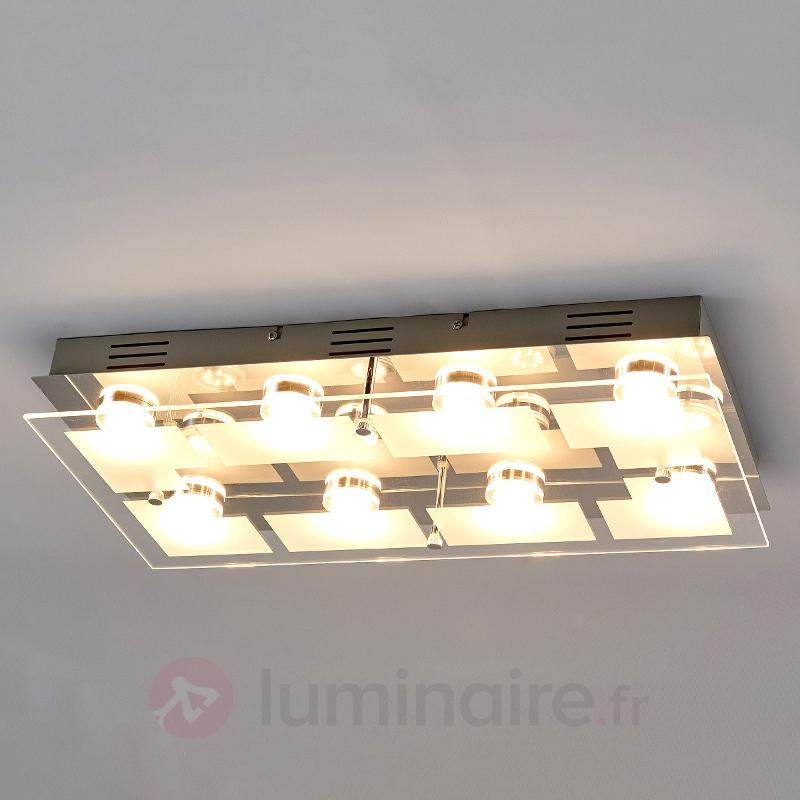 Plafonnier LED Karlina rectangulaire - Plafonniers LED
