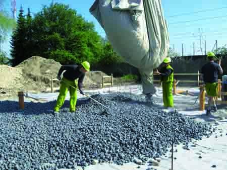 GEOCELL foam glass gravel -