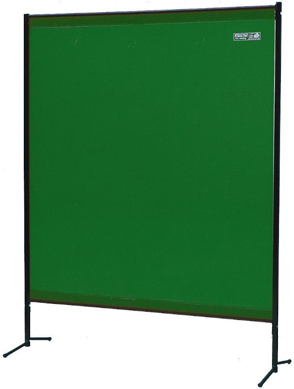 TransEco Industrieschutzwand - Kompakte Schutzwände mit zweigeteiltem Querrohrrahmen und Ständer.