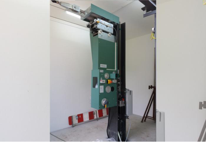 Installation de grue à câble SEBA -