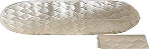 Детские матрасы - Натуральная хлопчатобумажная ткань, 21 * 14 дюймов, 18 * 14 дюймов