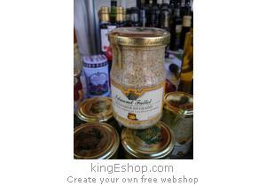 Moutarde de Dijon en Grains - Référence : YMDFG
