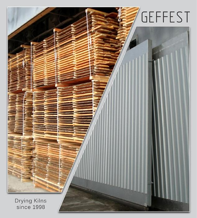 GEFEST - современные промышлен. сушильные камеры и комплексы - для сушки древесины высокого качества.