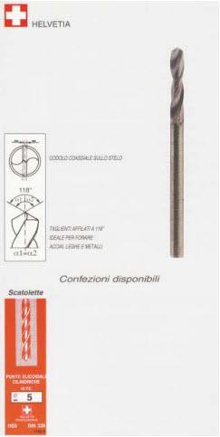 Punte HSS per forare acciaio-ferro-metallo - P1420200 - null