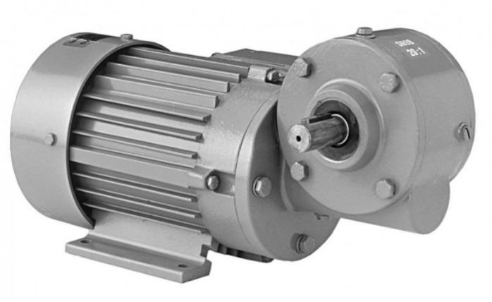 SN9B - Einstufiger Getriebemotor mit Ausgangswelle