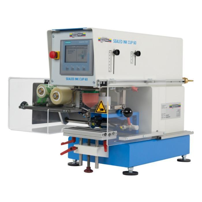 SEALED INK CUP Pad Printing Machine Series - Pad printing machine series for single-color printing images.
