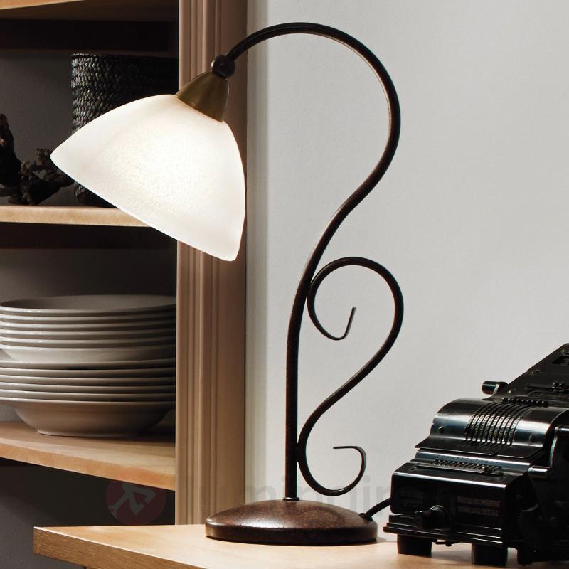 Lampe à poser de style Midec - Lampes à poser rustiques