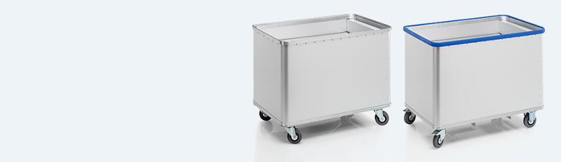 Spring-loaded base trolleys - D 1408