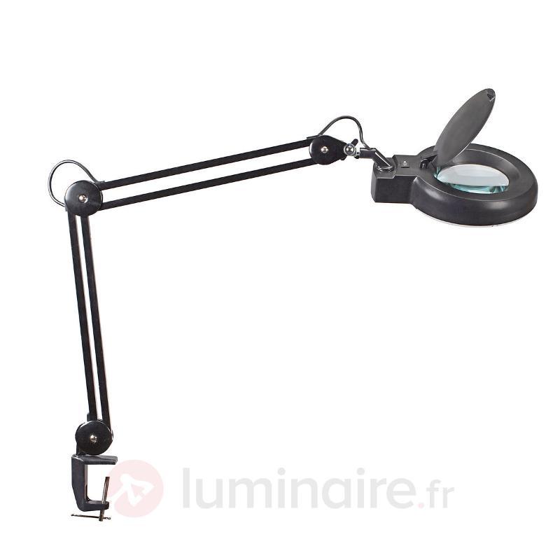 Lampe loupe de confort VISO noire