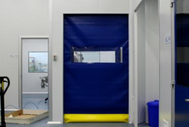 Puerta rápida enrollable - Puerta rápida enrollable industrial