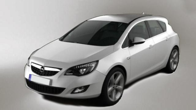Opel Astra - Opel Astra is a stylish family car.