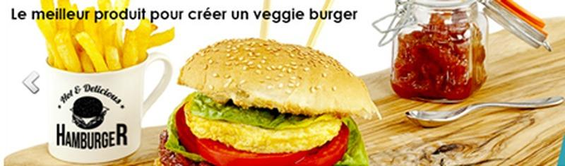 Omelette Burger -