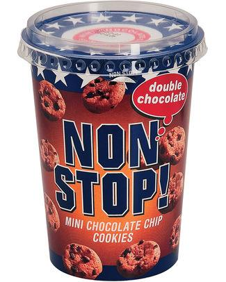 Non Stop Cookie Double Chocolat 125gr - 8 - Import / Biscuits