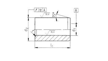 Bohr- und Schneidbuchsen - Zylindrische Bohrbuchsen DIN 179